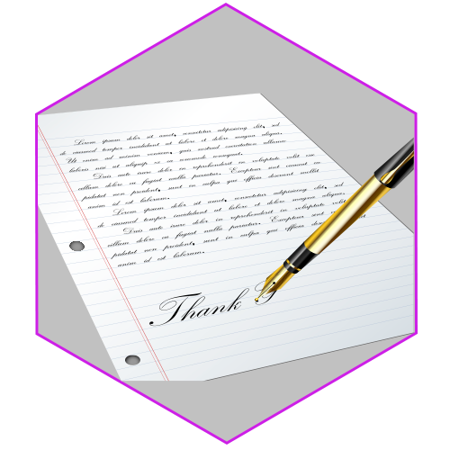 Write Thank You
